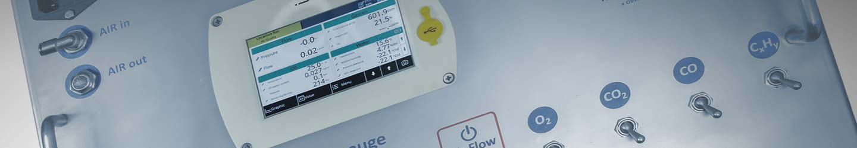 Breathing air analyser